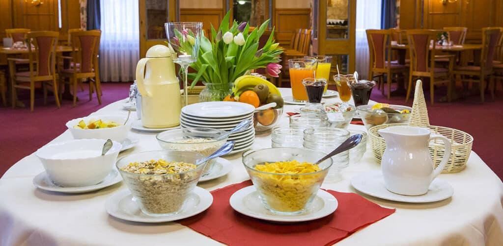 Breakfast at the Hotel Eydt Kirchheim